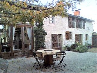 Dercé, Charmantes Landhaus ' Fleur de Coupigny ' nahe Richelieu u. Chinon