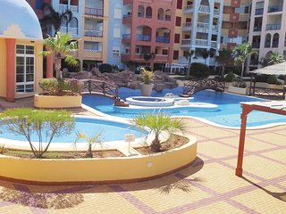 Awesome apartment in Playa Honda w/ Outdoor swimming pool, Sauna and 1 Bedrooms