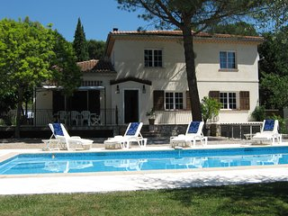 Roquefort Les Pins near Valbonne villa with private pool Sleeping 6