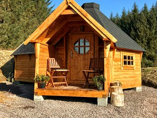 The Nest Glamping Pod with bathroom