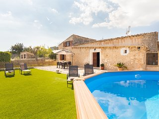 Can Guapo - Beautiful villa with pool in Llubí