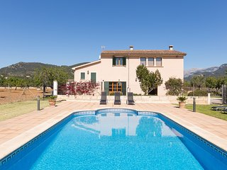 Can Morneta - Mallorcan style country house in Lloseta