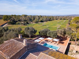 Finca Son Grauet - Spectacular villa with pool in Llucmajor