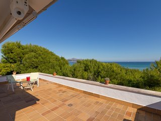 Franciscus - Spectacular villa on the beachfront of Platges de Muro