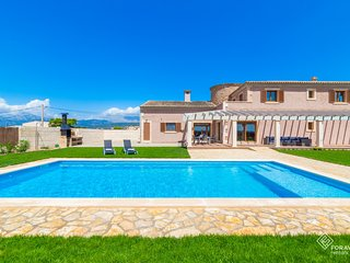 Moli den Sion - Spectacular villa with pool and garden in sa Pobla
