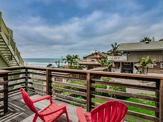 Clean Beach Rental with Ocean View!