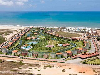 Aquaville Resort, bloco 3 da praia