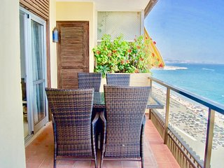 Fantastic 3BR Fuengirola First Line Beach Apartment with Panoramic Sea Views