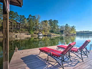 NEW! Hot Springs Home on Lake Hamilton Waterfront