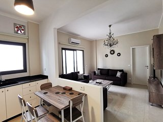 Mar Mikhael Newly furnished 2 bedrooms Flat w/view