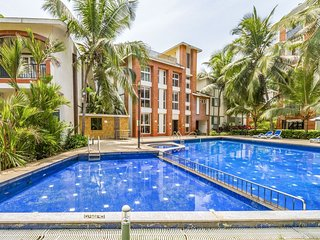 Modish 1 BHK with a pool, ideal for families /67916