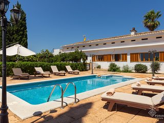 Son Valenti Nou - Beautiful villa with pool and garden in sa Pobla