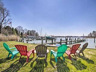 NEW! Waterfront Home Near Annapolis