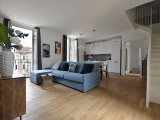 Diamante - wonderful 3 bedroom duplex, perfect location in Brera