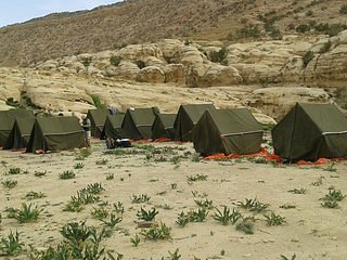 Bedouin Footsteps #4 tented camp