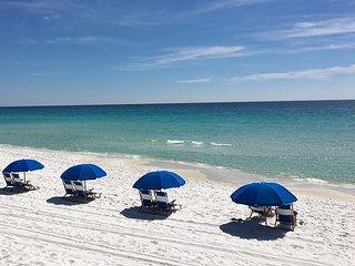 Beachfront with Wonderful Gulf Views. Free Beach Service! (414)
