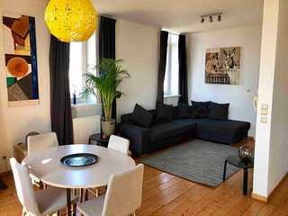 Lux apartment antwerp centre with topview city