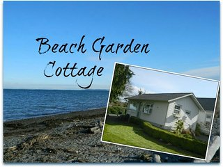 Beach Garden Cottage with Beautiful Water View