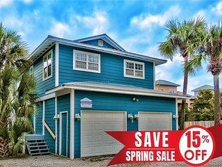 15%OFF Now-5/25/19! Updated Cottage, Steps2Beach +VIP Perks! Pool Coming Soon