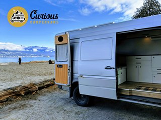 Handcrafted Off-Grid Sprinter Van For Rent