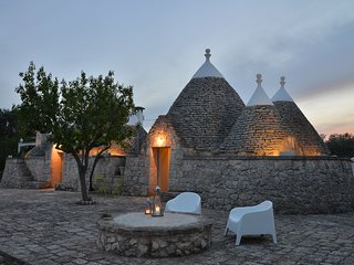 TRULLO LUCE  is a luxury villa rental located in Puglia