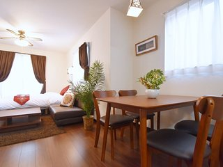 92 NEW!! Spacious 3-Storey House/ Max 8ppl / Near Shinjyuku / WIFI