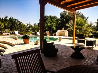 villa Merlata con piscina privata