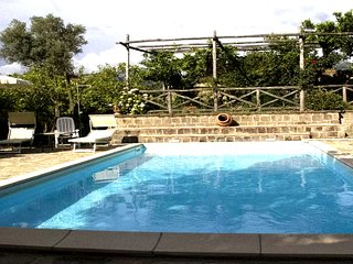 Casa Lusal (A) apartment in a complex with garden and shared pool Sorrento Coast