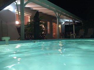 Magnifique villa pour 8 avec piscine sans vis a vis dans résidence sécurisée