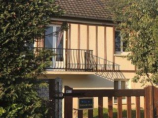 Proche Deauville Villa avec piscine et Sauna