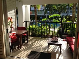 Lagoon side Apartment with private entry.