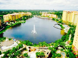 Orlando 1 BD Wyndham Bonnet Creek inside Gates of Disney World Florida