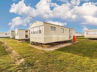 6 berth caravan for hire at Martello caravan park near Clacton on Sea.