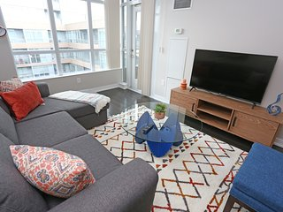 Stroll to the Waterfront from Trendy Downtown Condo