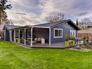NEW! Central Medford Family Retreat w/ Large Yard!