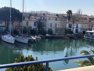 Maison de pêcheur 8 personnes dans la Venise provençale, Golfe de Saint Tropez