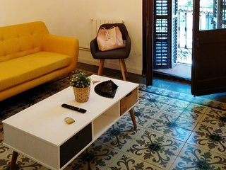 NEW! Cozy apartment with terrace in Sants
