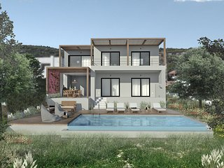 Newly built AMAZING villa with PRIVATE pool.
