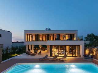 Modern Villa #1, in Istria, with a Pool