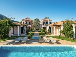 Beachfront Villa Spirida- Villas Aktes in Vasiliki bay