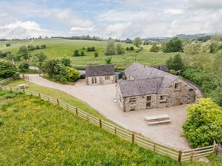 Tissington Ford Barn, Bradbourne, Ashbourne, Derbyshire. Sleeps 12 persons