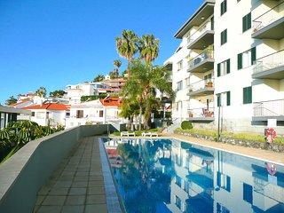 Funchal, LIDO area - Spacious south facing apt, 18 mtr pool & lovely garden