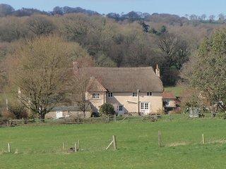Thatched 16th C B&B Devon countryside near Axminster 15 mins to beaches Grade II