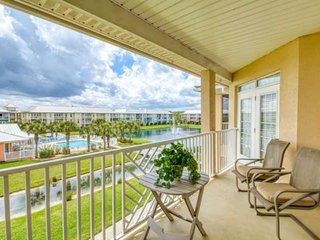 Cheerful Seaside at Anastasia 302 - Great Beach Location!  Super Clean, Heated P