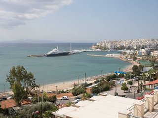 Incredible beauty in Kastella, Pireas with stunning views of the sea and port