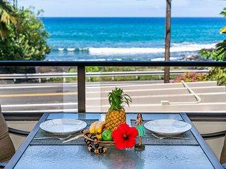**Rates Reduced **Spacious 2Bedroom, 2Bath Ocean View condo, close to town Holua