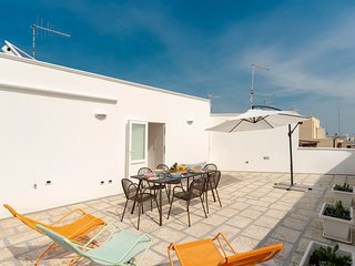 Historic City View Apartment in Puglia