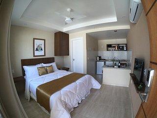 Suítes confortáveis com cozinha completa em Búzios 01