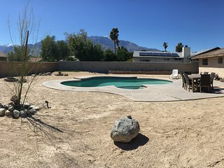 Available for Coachella & Stagecoach at a low price! Great home with a pool!!