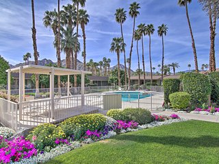 Chic Indian Wells Resort Condo w/Pool & Patio